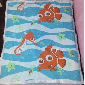 Cobertor Antialérgico Berço Procurando Nemo Disney Menino - R ...