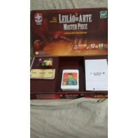 Manual Jogo Tabuleiro Leilao De Artes Master Piece