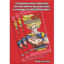 Cartas Dragon Ball Z Unlimited Fight - Lote 30 C/ Holografic