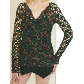 Tejidos Artesanales A Crochet: Sweater Calado!!