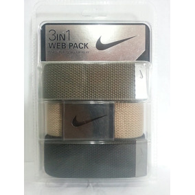 Tripack Correas Nike Ajustala A Tu Talla Hasta 42, 3 En 1