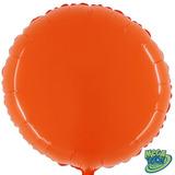 Balão Redondo Megacolor - Abóbora Carruagem (55cm)