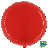 Balão Redondo Megacolor - Vermelho Morango (55cm)