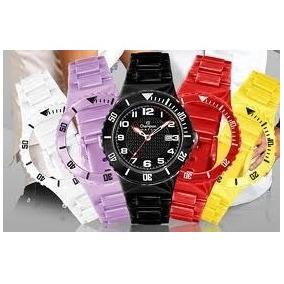 Kit Relógio Estilo Champion Troca Pulseiras