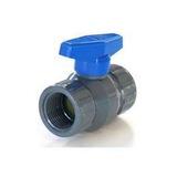 Llave De Paso Valvula Esferica Duke Pvc Plastica 1/2 Hh