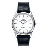 Reloj Sandoz 81359_00 Cuero Negro Hombre
