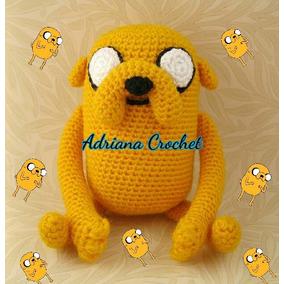 Jake Amigurumi Crochet La Hora De La Aventura