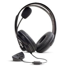 Fone Headset C/ Microfone Controle De Volume P/ Xbox 360