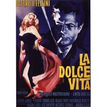 Poster Importado De La Dolce Vita, De Federico Fellini