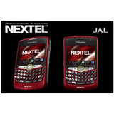 Blackberry Nextel Curve Red Bordo Roja Nueva Refubrished