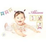 Cartel Bienvenidos Feliz Cumple Personalizado Y Foto Oferta