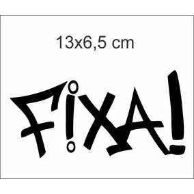 Adesivos Para Carro Tunning Rebaixado Fixa! Kit C/2 Unidades