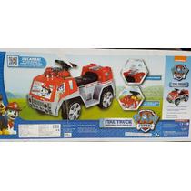 Montable Electrico Paw Patrol Camion De Bomberos