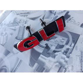 Emblema Jetta Gli 50 Aniversario Rojo