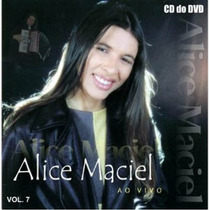 Cd Alice Maciel - Vol 7 - Ao Vivo (original)