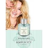 Perfume Kosiuko 50ml Simplicity/rose/california/vintage Edt