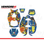 Calcomanias, Stickers Yamaha Bws 5 Continentes 100 Y 125