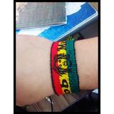 Pulseira Tornozeleira Reggae Bob Marley 3 Cm Frete Grátis!!!