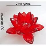 Flor De Loto Roja Decoracion Feng Shui Reiki Artenora
