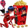 Kit Imprimible Prodigiosa Ladybug Cotillon Y Candy Bar 2x1