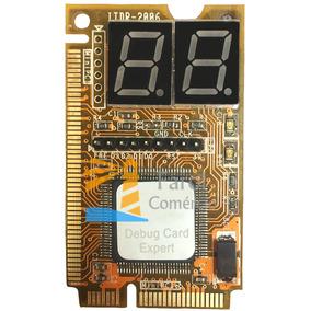 Placa Diagnostico Pc Analyzer Debug Notebook Lpc Mini Pci-e