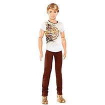 Juguete Barbie Fashionistas Ken Brown Muñeca Con Pantalones