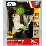 Star Wars Yoda Frases Interactivo 41cm Disney Store Original