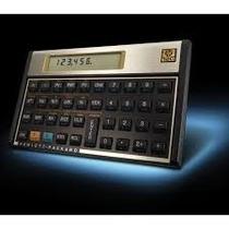 Calculadora Hp 12c Gold - Financeira - Visor Lcd 120 Funções