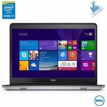 Notebook Dell I14-5448-b30 Intel I7 Touch 8gb Ram 1tb Hd Amd