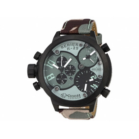 Exclusivo Reloj Welder By U-boat K29 3 Zonas Horarias