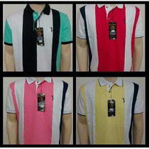 Kit 5 Camisas Pólos Aleatory