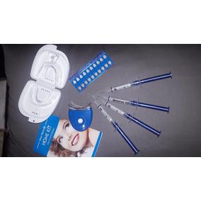 Blanqueador Dental Con Rayo Laser Con 4 Pz De Gel