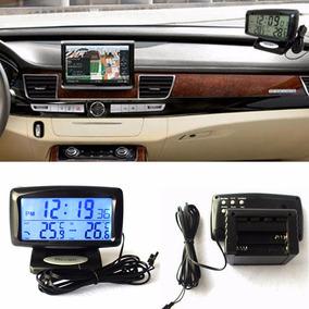 Reloj Con Termometro Para Auto