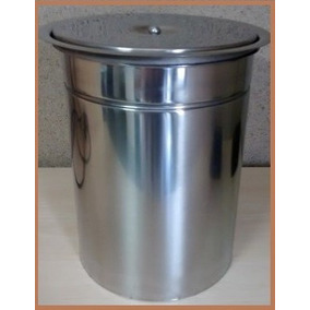 Lixeira Pia Cozinha Embutir Granito Em Inox 20 Litros - 2 Un