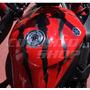 Adesivo Tuning Monster Tanque Moto Yamaha Xj6 + Frete Grátis