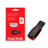 Pendrive Sandisk 8gb Usb 2.0 Cruzer Blade