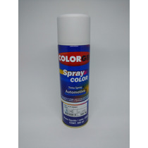 Tinta Spray Automotiva Colorgin Branco Geada Brilhante 300ml