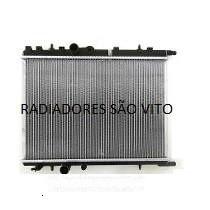 Radiador Novo Peugeot 206/207 1.0/1.4/1.6/1.6-16v