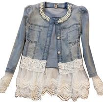 Jaquetas Mulheres /jaqueta De Renda/jeans Primavera 2016