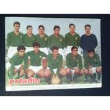 Estadio N° 900 Equipo Audax Italiano 25 Ago 1960