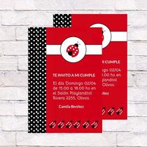 Invitaciones Vaquita De San Antonio