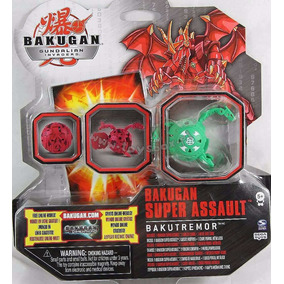 Bakugan Super Assault Bakutremor Verde