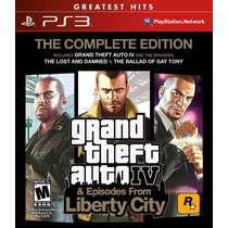 Grand Theft Auto 4 Complete Edition Playstation 3 Nuevo