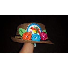 Sombrero Con Mola Panameña