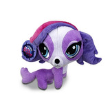 Littlest Pet Shop Em Pelúcia Cachorra Zoe Da Hasbro 15cms
