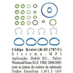 Kit Injecao Fiat Palio/siena 2001/ - Doblo 1.3 16v - Fire