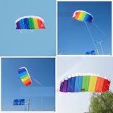 Kite Paraglider Tipo Pipa Para Acrobacia E Treino- Envio Ime