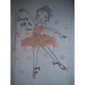 Camiseta Niña Talle 13-14 Años Marca Zara