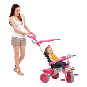 Triciclo Infantil Motoca Carrinho Bebê Passeio Smart-comfort