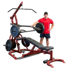 Gym Completo Pierna Pecho Espalda Press Polea 50en1 Todo!